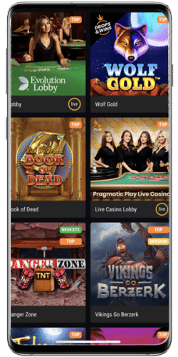 mobile Slots in einem Casino